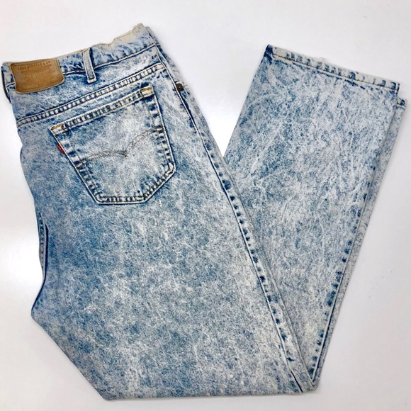 aba62bc3dbe Levi's Jeans   Vintage 80s Levis 540 Mens 42 X 32 Acid Wash   Poshmark